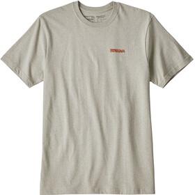 Patagonia Splitter Shaka t-shirt Heren grijs